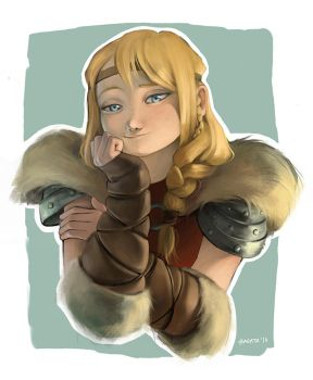 Astrid Hofferson by Hagata