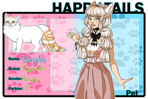 Happy-Tails: Evangeline by jangloo