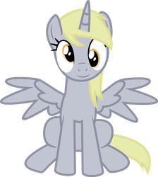 Derpy Hooves (sit) vector by luckreza8