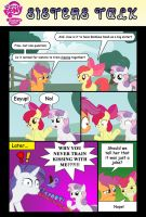 My Little Pony  Sisters Talk  by mickeyelric11 by toongrowner