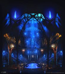 Ravenclaw Common Room by Eliott-Chacoco
