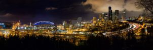 Seattle Washington by ANNIHILATOR001