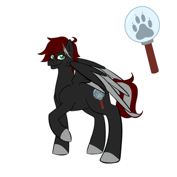 Sleuth Holmes, The Ponyville Hound (New Bio) by Sleuth92