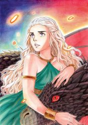 Mother of Dragons by Zombiesmile