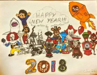 HAPPY NEW YEAR FROM GAME GEEKS DEVIANT!!!! by GameGeeksDeviant