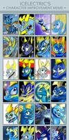 Character Improvement Meme - Icelectric by IcelectricSpyro