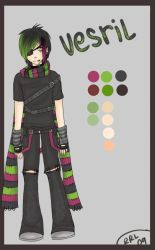 Vesril:.Full Outfit by rikulee