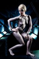 Seven of Nine body paint preview by shelle-chii