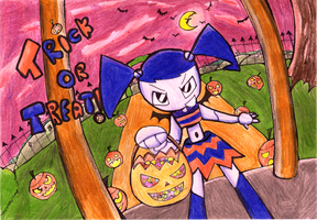 TRICK OR TREAT by GlitchPirate