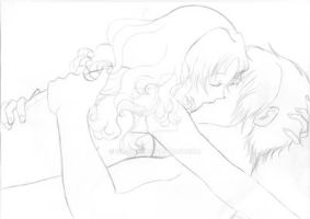WiP Kiss Nomi-chan and Seiichi 4th by Sil-Coke