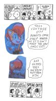 Sally Acorn comments about 2 Peanuts 1979 strips by dth1971