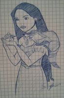 Pocahontas by LoiseFenollCreation