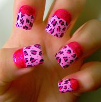 Pink Leopards by KayleighOC