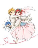 Magi - Bride and Groom by MONO-Land