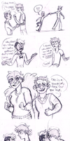 Blind Au Sketches by SpectrumSpoof2