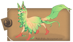 -Auction- Leafeon Themed FC (CLOSED) by GentleLark