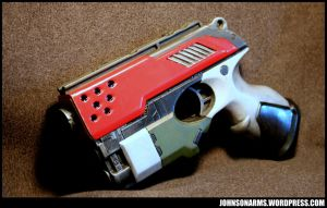 Red Team Sidearm by JohnsonArmsProps