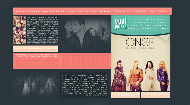 Layout OUAT by anteeek
