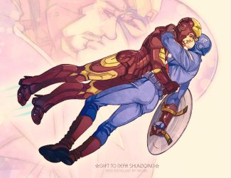 The Avengers-Fly with you by Athew