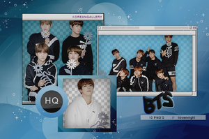 BTS | PACK PNG by KoreanGallery