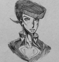 josuke? maybe? by somefreshmaymays