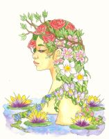 Persephone by thanelin