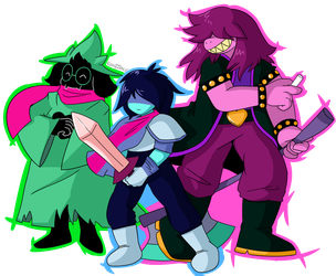 The ?!$! Squad by WingnutXLV