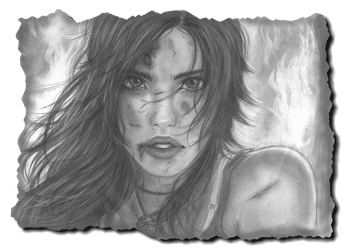 My Tomb Raider Reborn contest entry by As-If-I-Draw