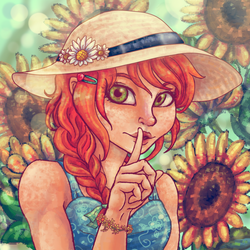 Be Quiet in the Garden by Ag-Cat