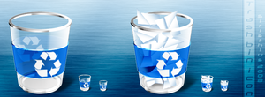 Trash bin icon by Siristhius