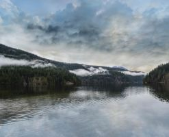 Buntzen Lake by dashakern