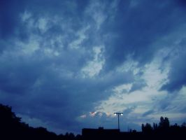 Sky in the evening. by RavenGocean