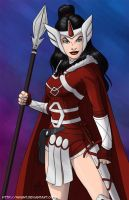 Lady Sif by mhunt