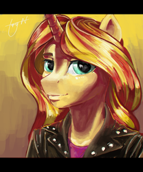 anthro Shimmer portrait thing by Topsy-N