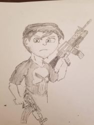 The Punisher  by BryanGh0stboi