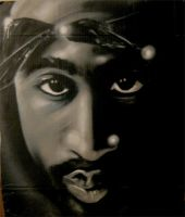 2pac spraypaint by JeremyWorst