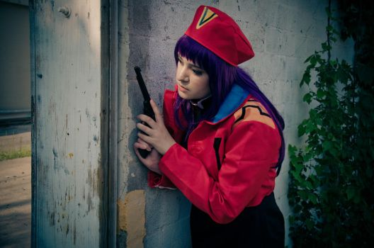 NGE: Hiding From Danger by singingaway