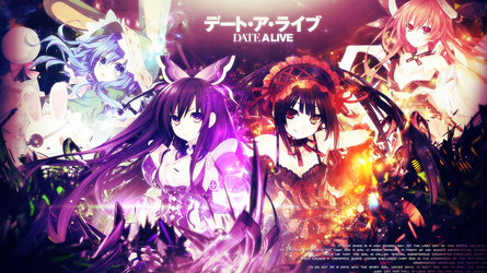 Date A Live wallpaper by tammypain