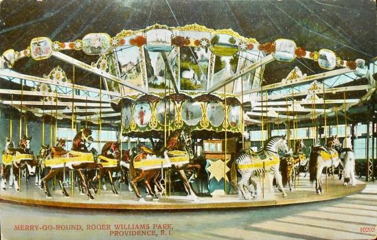 Vintage Providence - Merry-Go-Round by Yesterdays-Paper