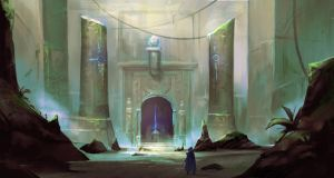 Ancient Temple by jeffchendesigns