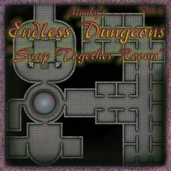 Endless Dungeons Vol 4 by meditatingmunky
