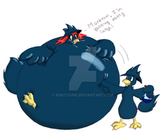 Lily and Murkrow