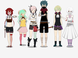 Kisekae Test BEHOLD THE OCS! Prt 1 by rain1989