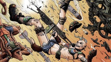 Tank Girl by skekUng