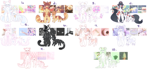 CLOSED l HUUGE Aesthetic batch #2 by Sno-berry