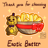 Exotic Butter by TrashcanAlphys