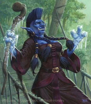 Troll Mage by RalphHorsley