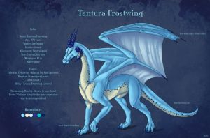 Tantura Frostwing - new charsheet by Aarok