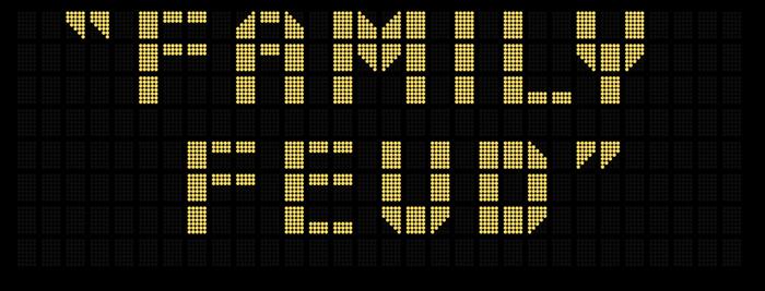 Family Feud Fast Money Logo V1 by Dadillstnator