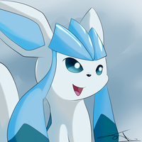 Glaceon by JollyThinker